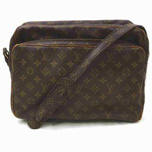 Auth Louis Vuitton Nile Gm Crossbody #7049V13